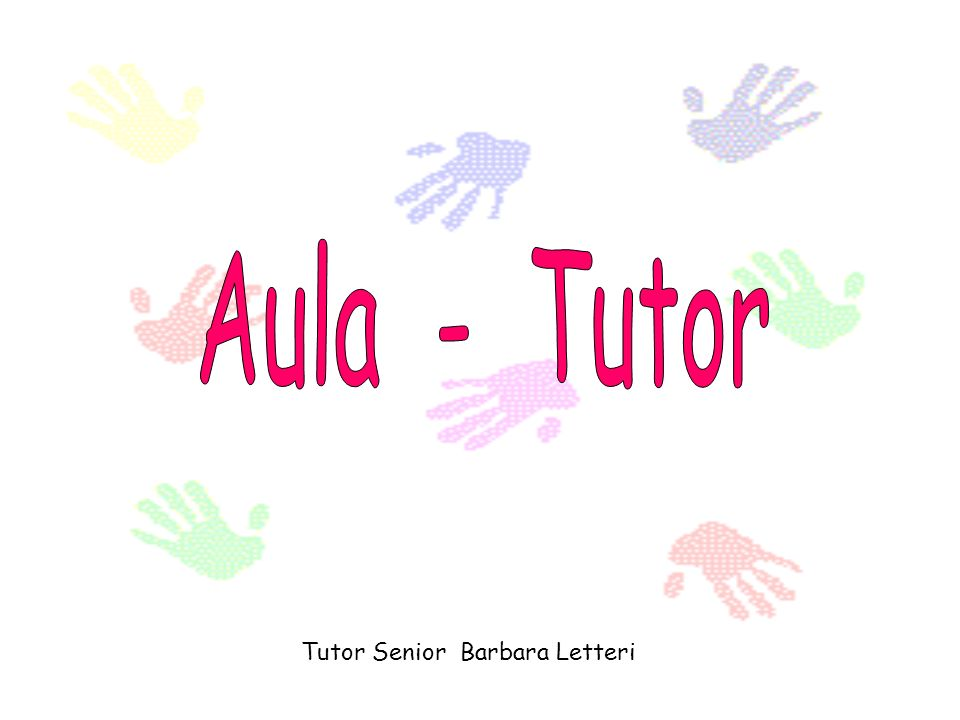 Tutor Senior Barbara Letteri