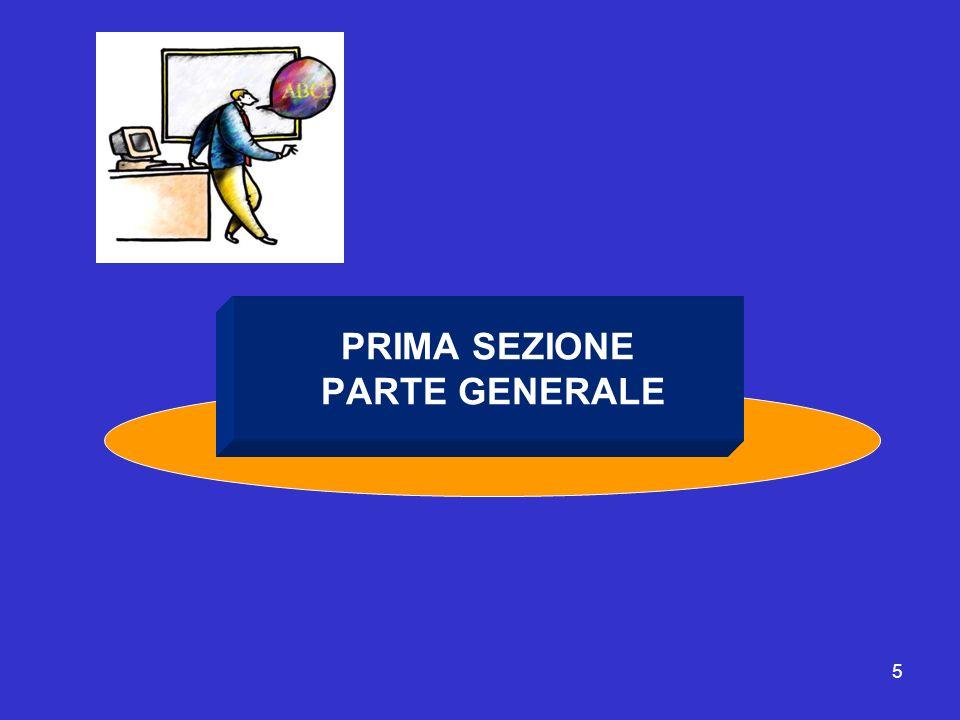 5 PRIMA SEZIONE PARTE GENERALE