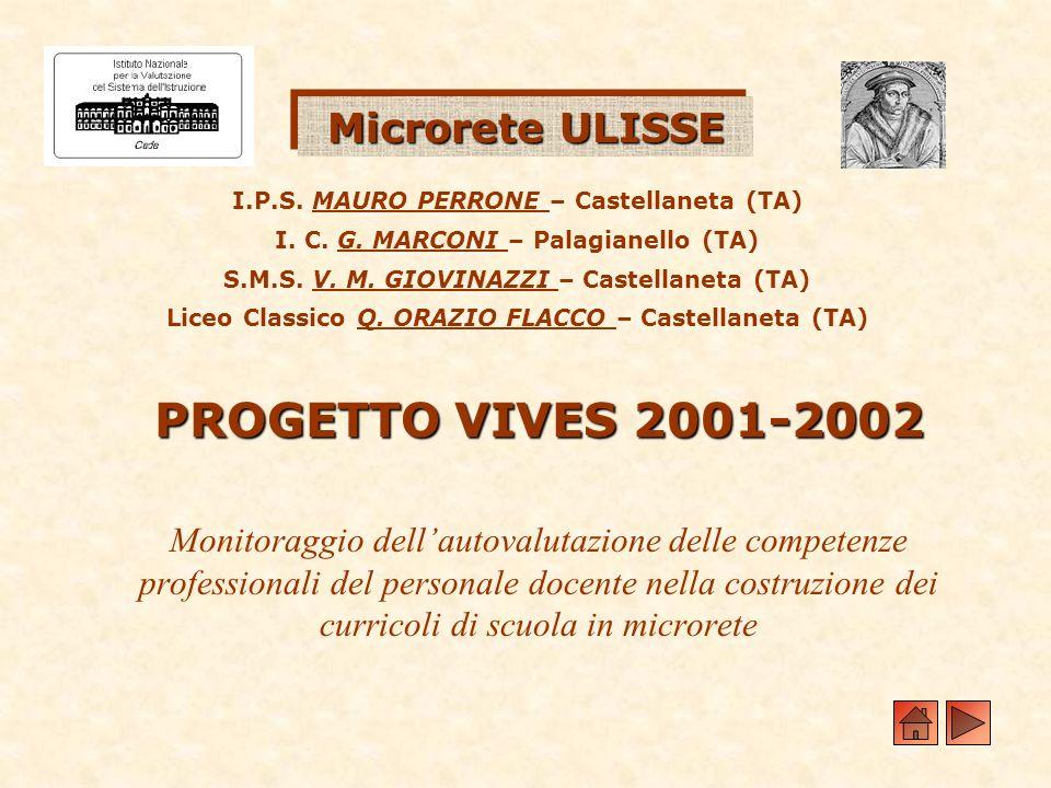 I.P.S. MAURO PERRONE – Castellaneta (TA) I. C. G. MARCONI – Palagianello (TA) S.M.S. V. M. GIOVINAZZI – Castellaneta (TA) Liceo Classico Q. ORAZIO FLA
