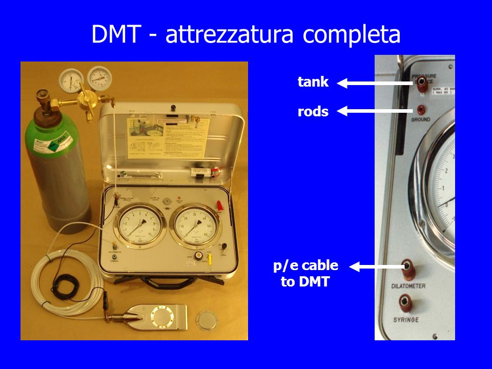 Il Dilatometro Sismico – SDMT First SDMT in 1988 Hepton: Shear wave velocity measurements during penetration testing.