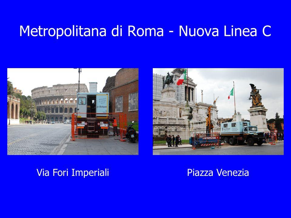 Via Fori ImperialiPiazza Venezia Metropolitana di Roma - Nuova Linea C