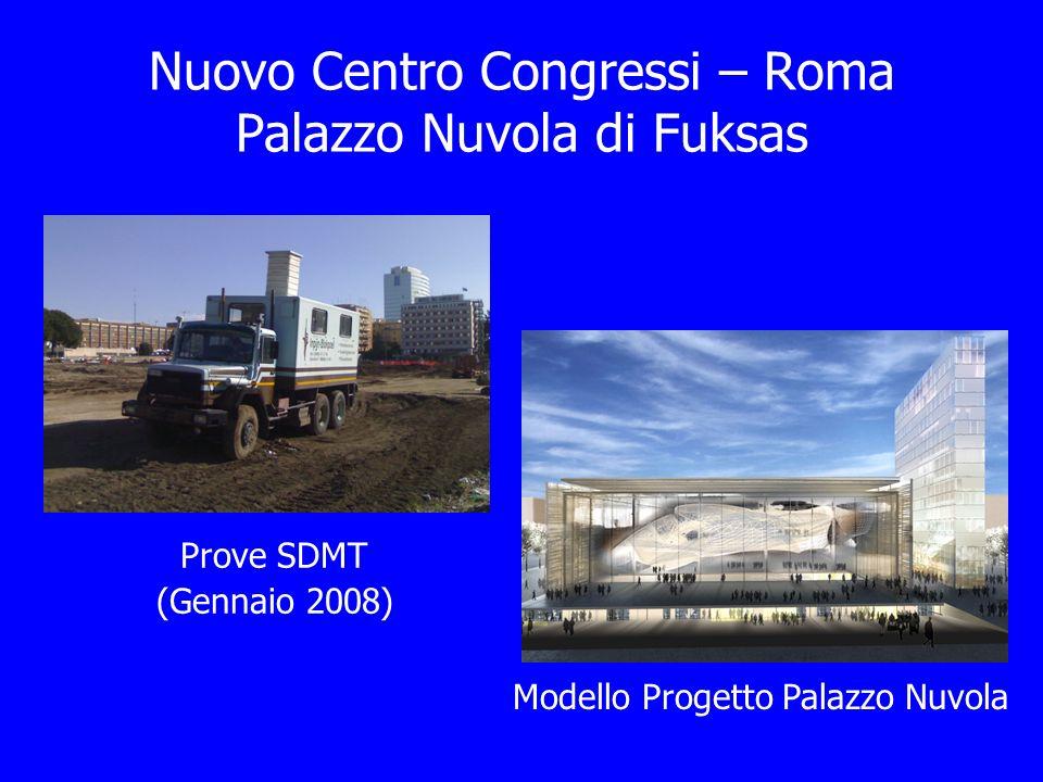 Nuovo Centro Congressi – Roma Palazzo Nuvola di Fuksas Modello Progetto Palazzo Nuvola Prove SDMT (Gennaio 2008)