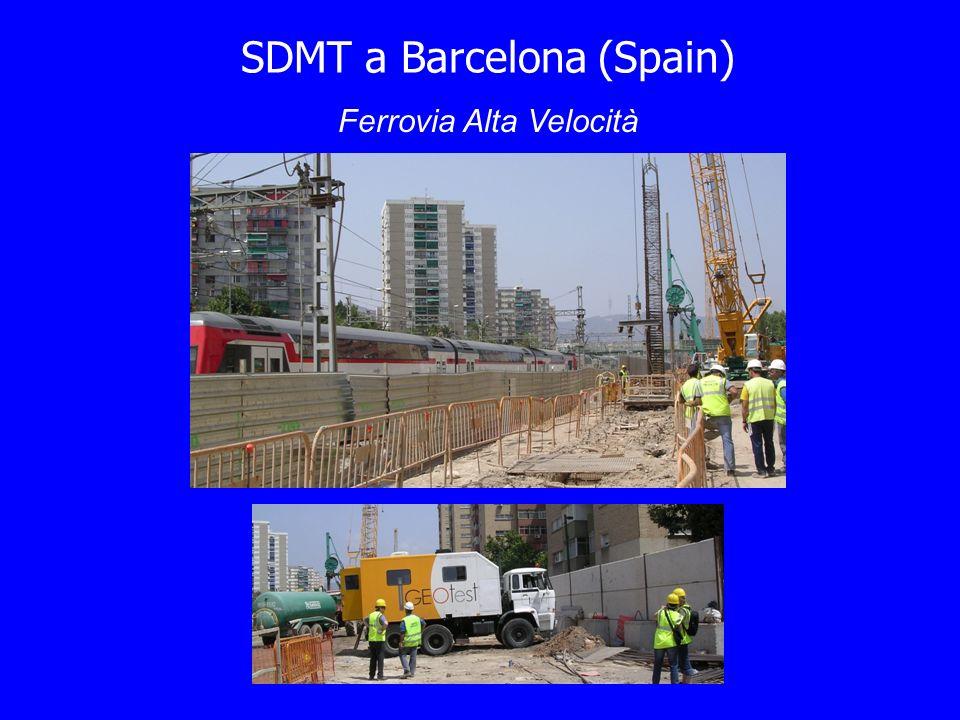SDMT a Barcelona (Spain) Ferrovia Alta Velocità