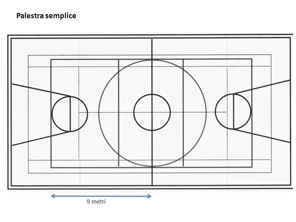 Palestra semplice 9 metri