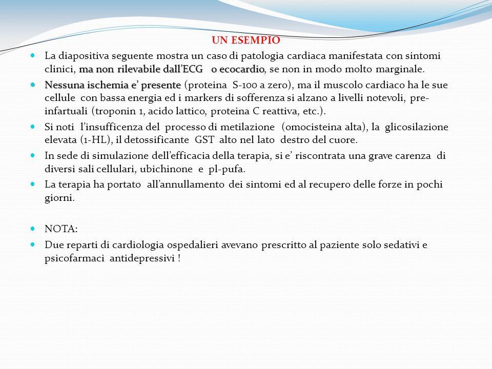 UN ESEMPIO ma non rilevabile dallECG o ecocardio La diapositiva seguente mostra un caso di patologia cardiaca manifestata con sintomi clinici, ma non