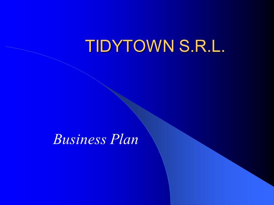 TIDYTOWN S.R.L. Business Plan