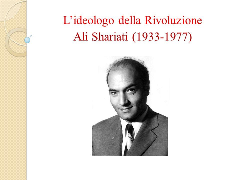 Lideologo della Rivoluzione Ali Shariati (1933-1977)