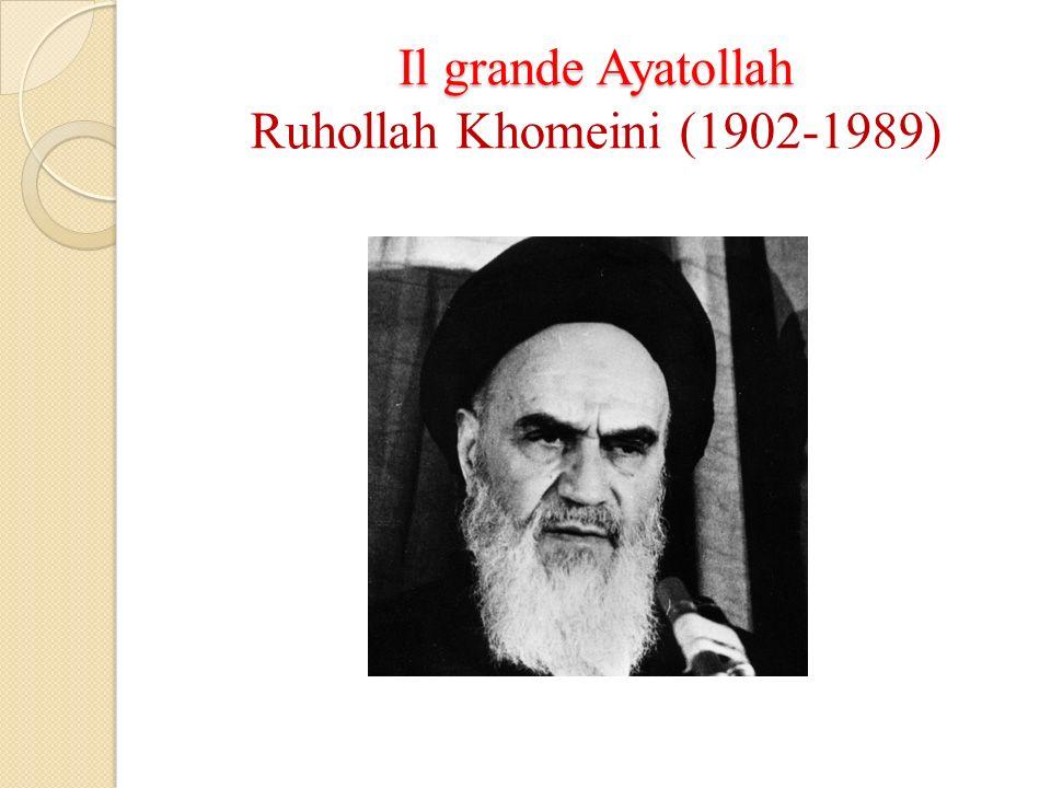 Il grande Ayatollah Il grande Ayatollah Ruhollah Khomeini (1902-1989)