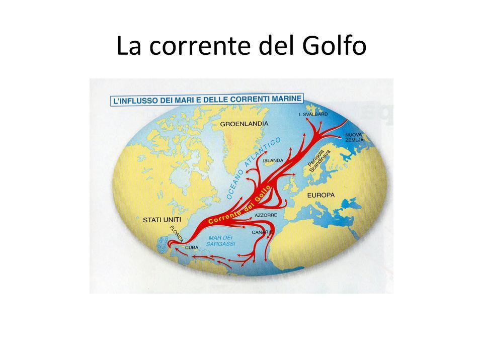 DISPOSIZIONE DELLE CATENE MONTUOSE Le Alpi, i Pirenei e altre catene montuose europee formano uno sbarramento per i venti freddi provenienti da nord e per quelli caldi provenienti da sud.