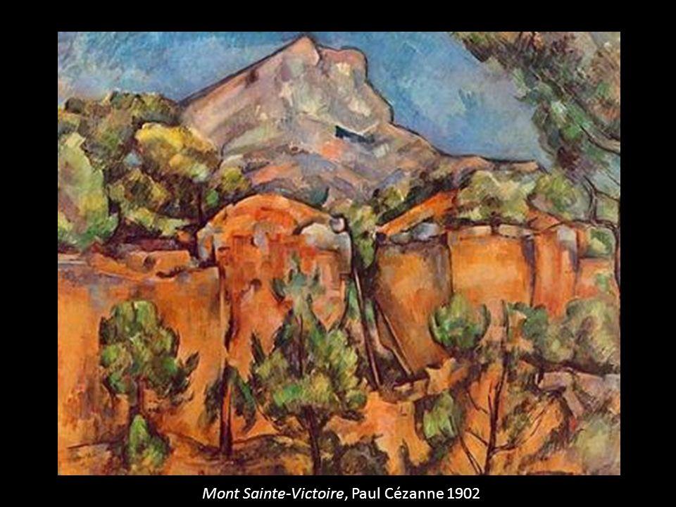 Mont Sainte-Victoire, Paul Cézanne 1902