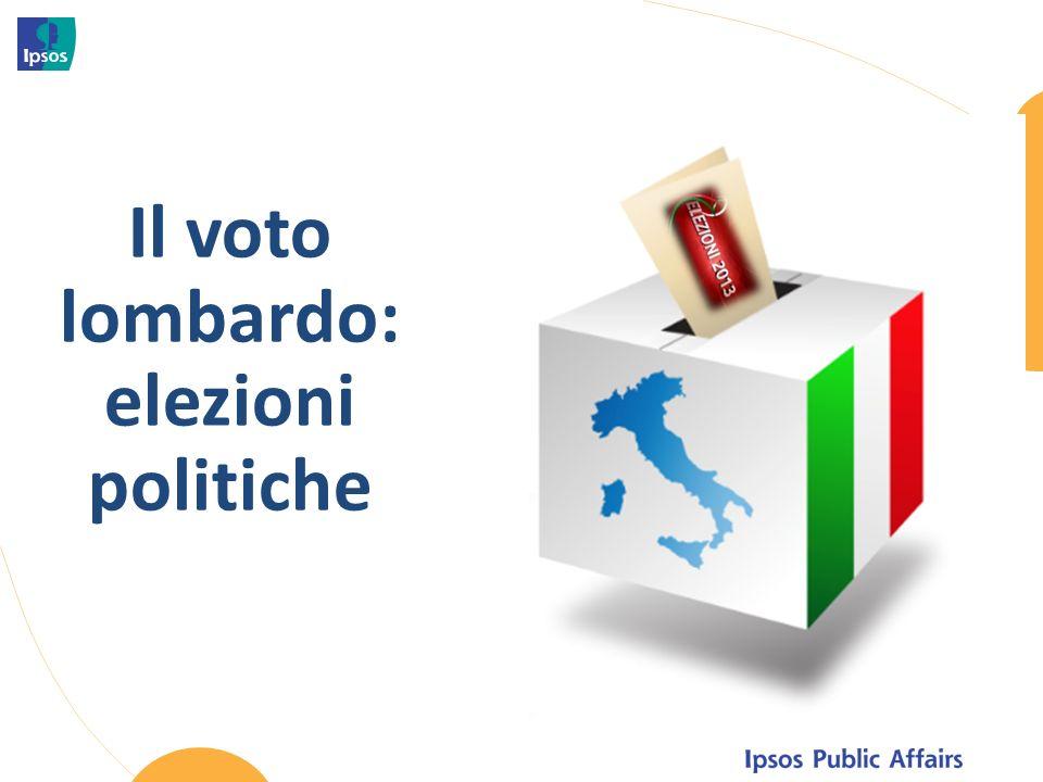 Il voto lombardo: elezioni politiche