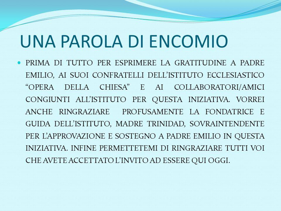 LE PRINCIPALI STRUTTURE CHE RICHIEDONO URGENTE ATTENZIONE 1.