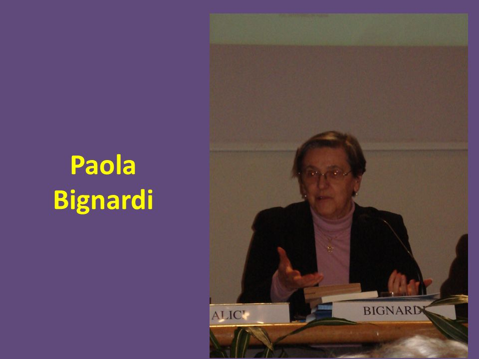 Paola Bignardi