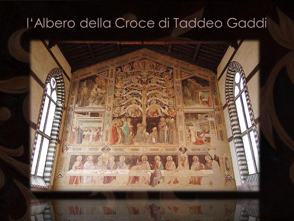 lAlbero della Croce di Taddeo Gaddi