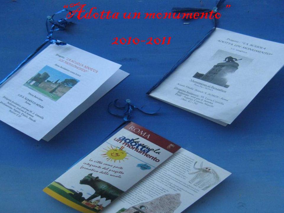 Adotta un monumento 2010-2011