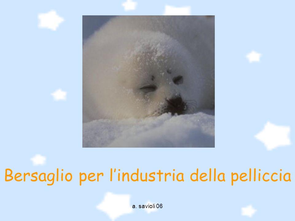 a. savioli 06 Bersaglio per lindustria della pelliccia