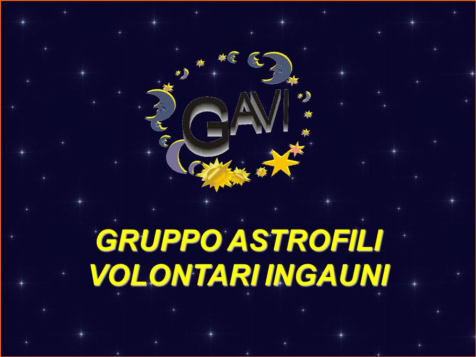 Logo GRUPPO ASTROFILI VOLONTARI INGAUNI