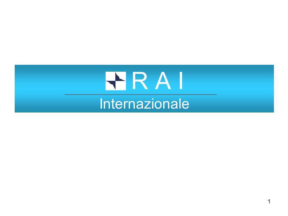 1 R A I Internazionale