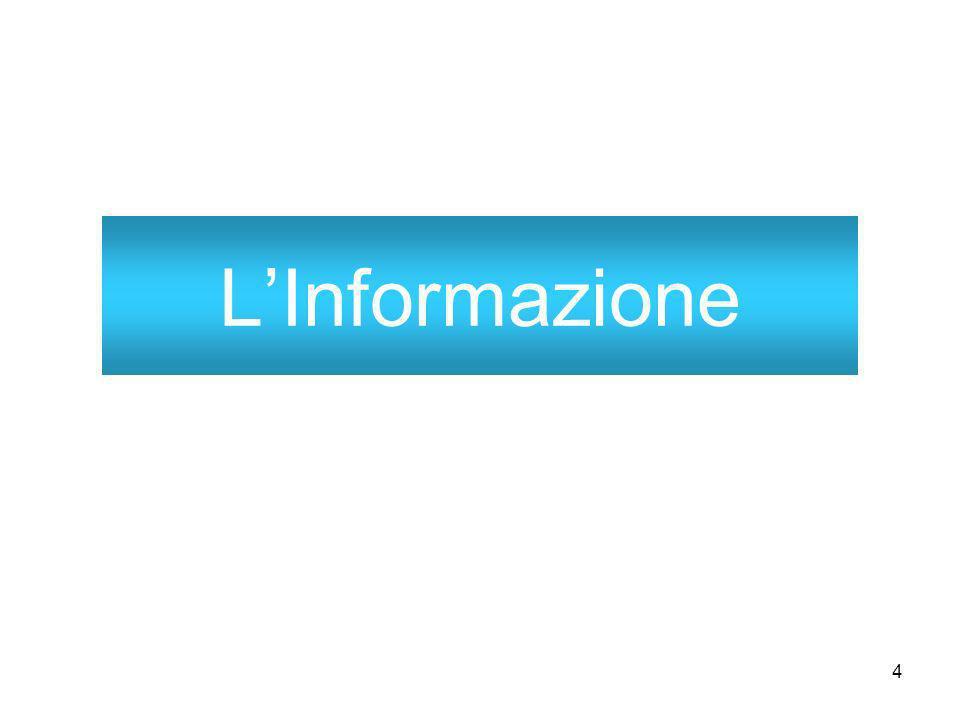 4 LInformazione
