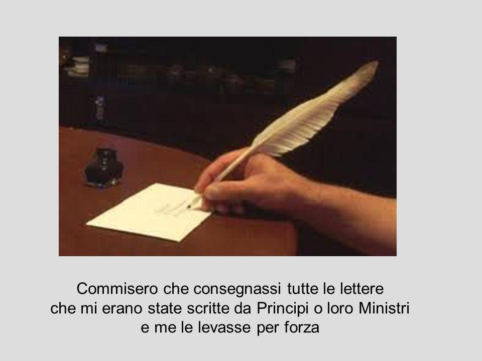 Molti dicevano che ero infettata dal morbo delleresia e fecero molte prove..per farmi castigare… siete voi Petruccina o Segnarina?