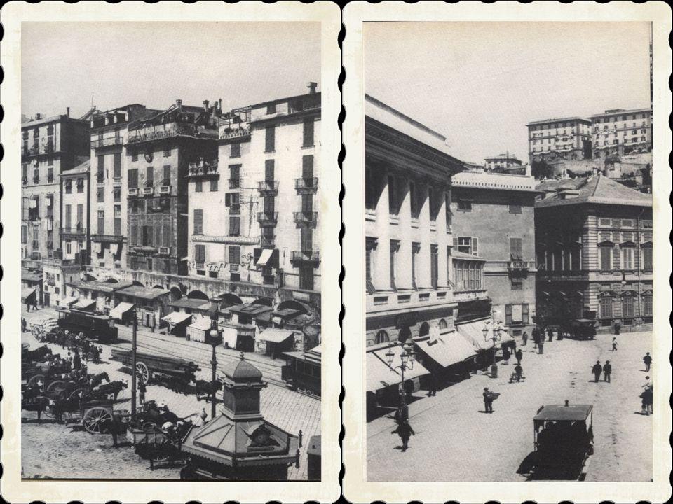 Il corteo proseguiva poi sino alle porte di San Tommaso (piazza Principe), arrivava in piazza della Darsena, s immetteva in via Pré, via del Campo, Fo