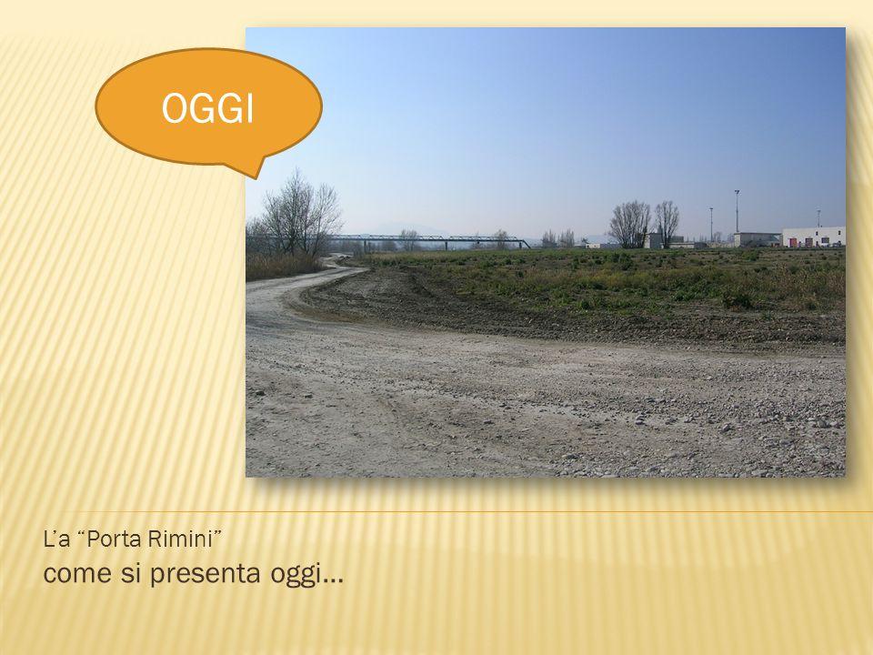 La Porta Rimini Realizzazione di un guado ciclo-pedonabile IL GUADO ALLALTEZZA DEL PONTE DELLA14 Autostrada A14