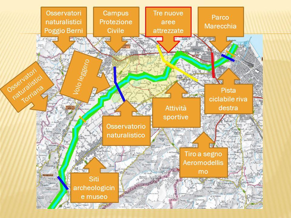 Valorizzazione del patrimonio storico, naturalistico ed ambientale del fiume Marecchia, con il completamento del percorso su entrambe i lati, per una