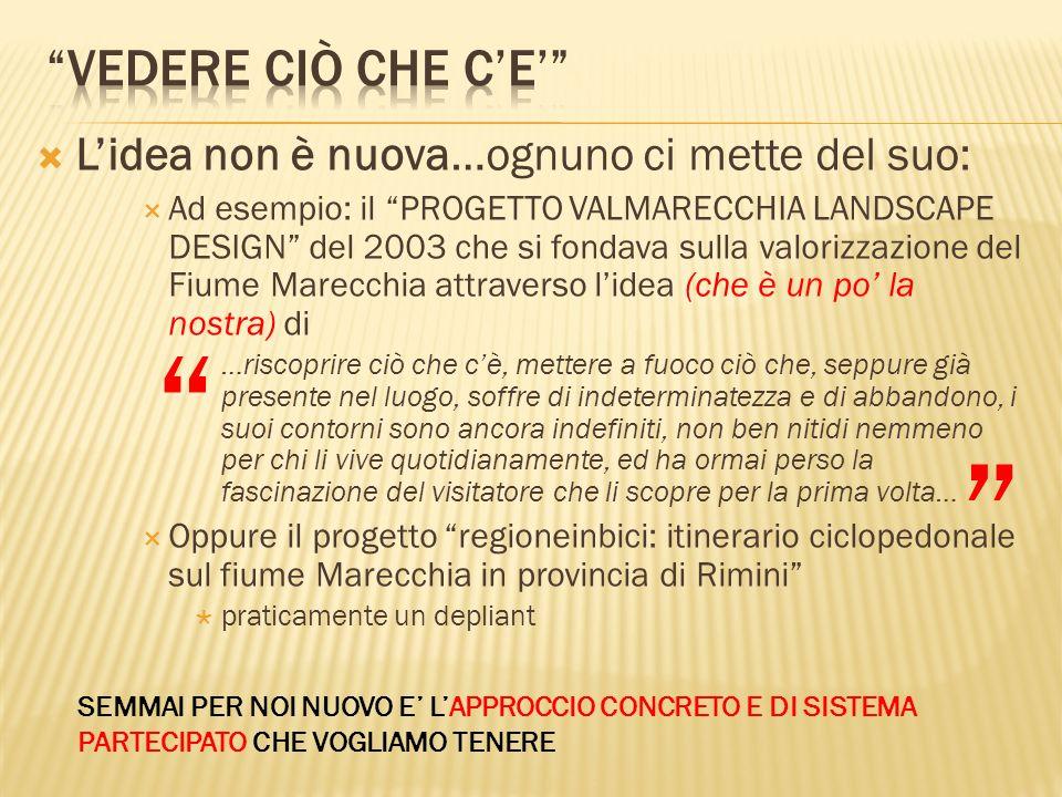 Riziero Santi (Assessore LLPP, Protezione Civile) – Coordinatore del Progetto Cesarino Romani (Assessore Ambiente ) Ing.