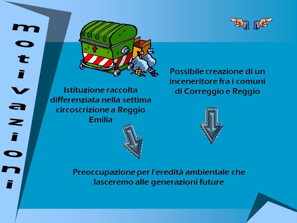 Istituzione raccolta differenziata nella settima circoscrizione a Reggio Emilia Possibile creazione di un inceneritore fra i comuni di Correggio e Reg