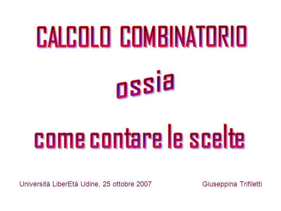 Università LiberEtà Udine, 25 ottobre 2007Giuseppina Trifiletti