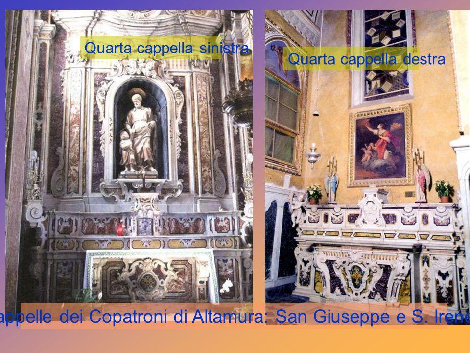Terza cappella sinistra Sacra Famiglia - S. Giovanni Ev. : Sec.XIX