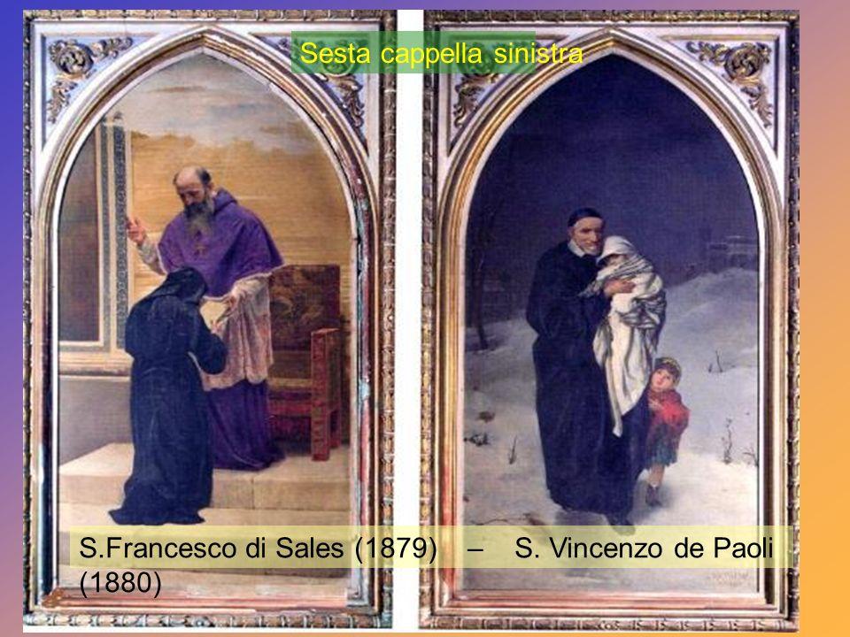 S. Tommaso dAquino Profeta Elia (1875) Quinta cappella sinistra