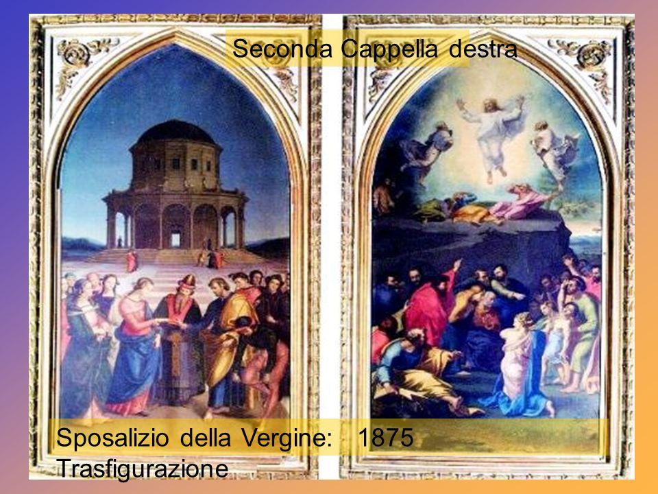 Nella prima cappella di destra: S. Andrea di Avellino: Sec.XIX - S. Filippo Neri e S. Francesco 1750