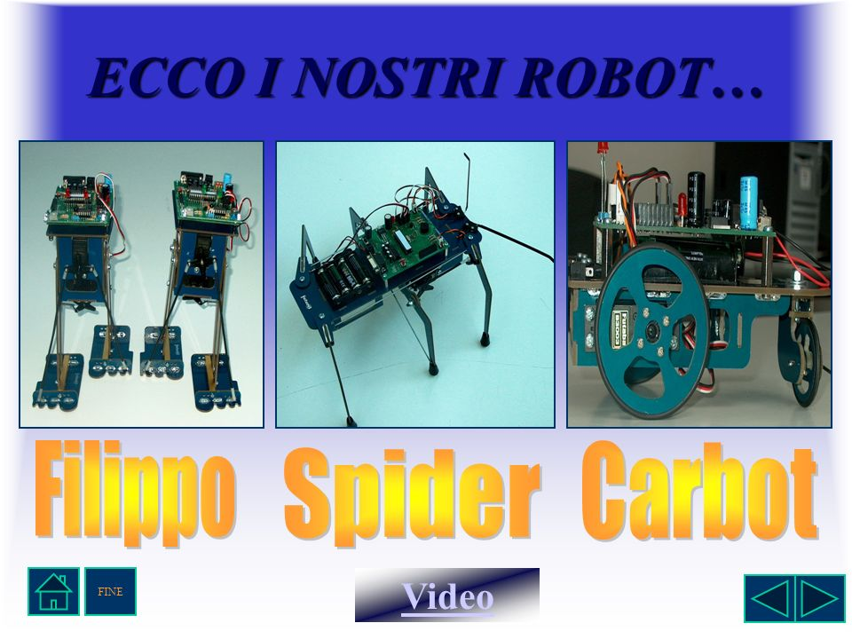 ECCO I NOSTRI ROBOT… Video FINE