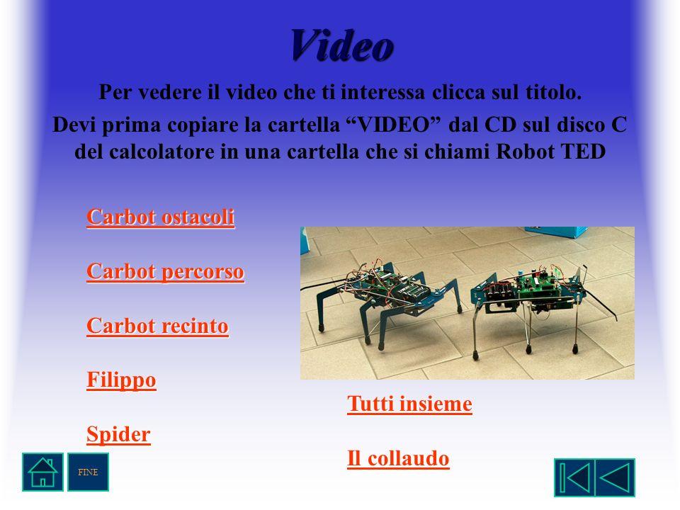 Video Per vedere il video che ti interessa clicca sul titolo. Devi prima copiare la cartella VIDEO dal CD sul disco C del calcolatore in una cartella