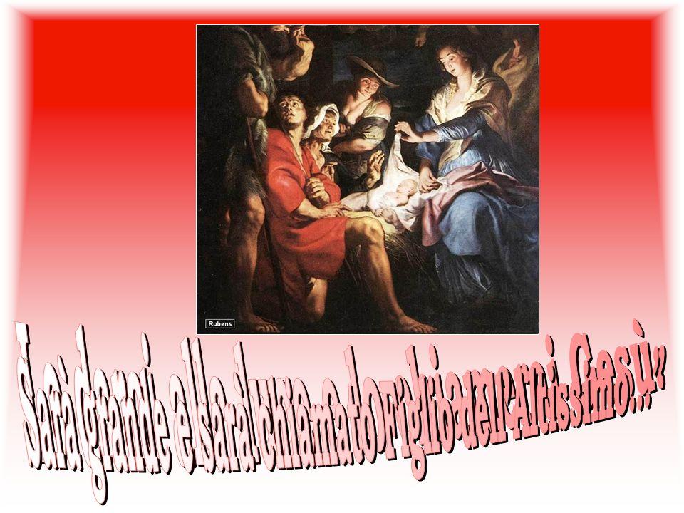 Langelo le disse: «Non temere, Maria, perché hai trovato grazia presso Dio.