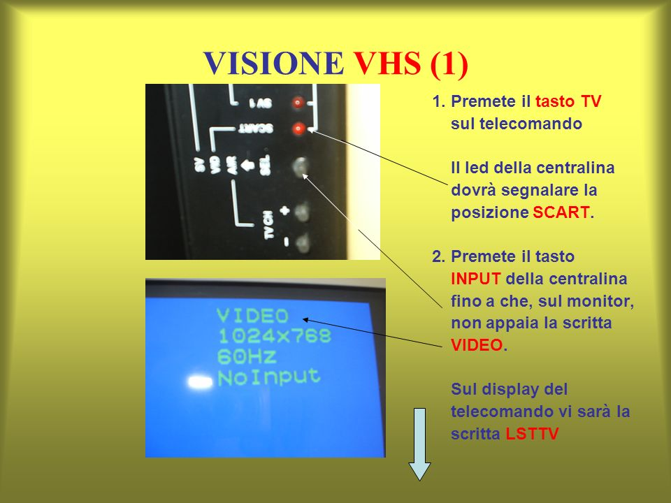 VISIONE VHS (1) 1.