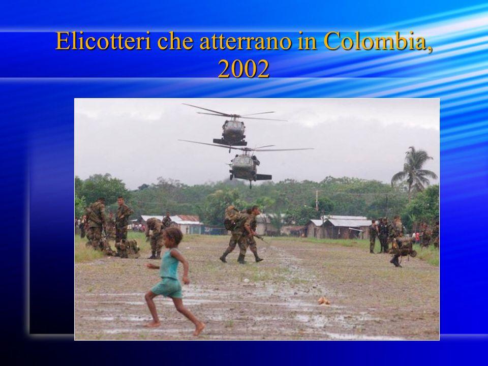 Elicotteri che atterrano in Colombia, 2002