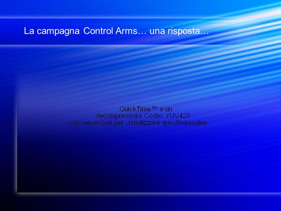 La campagna Control Arms… una risposta…