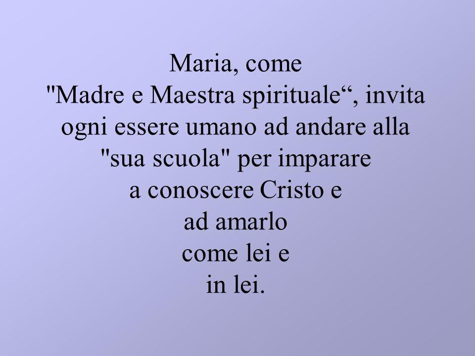 Maria, come