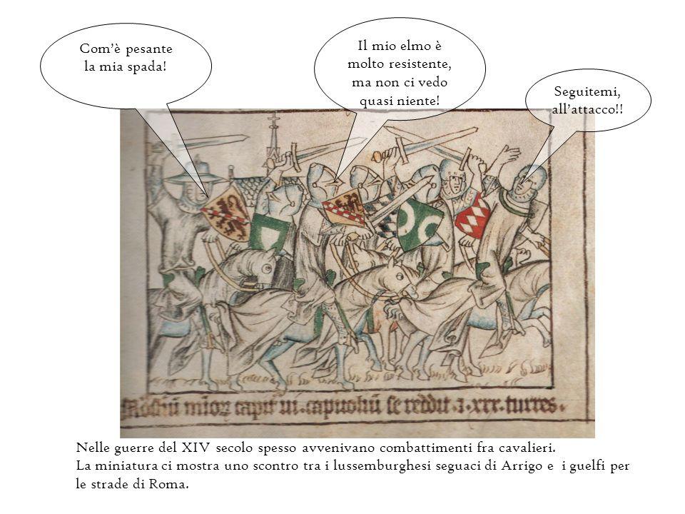 Attraverso le miniature del codice di Baldovino, arcivescovo di Treviri, fratello di Arrigo VII. Le miniature raccontano il viaggio di Arrigo VII in I