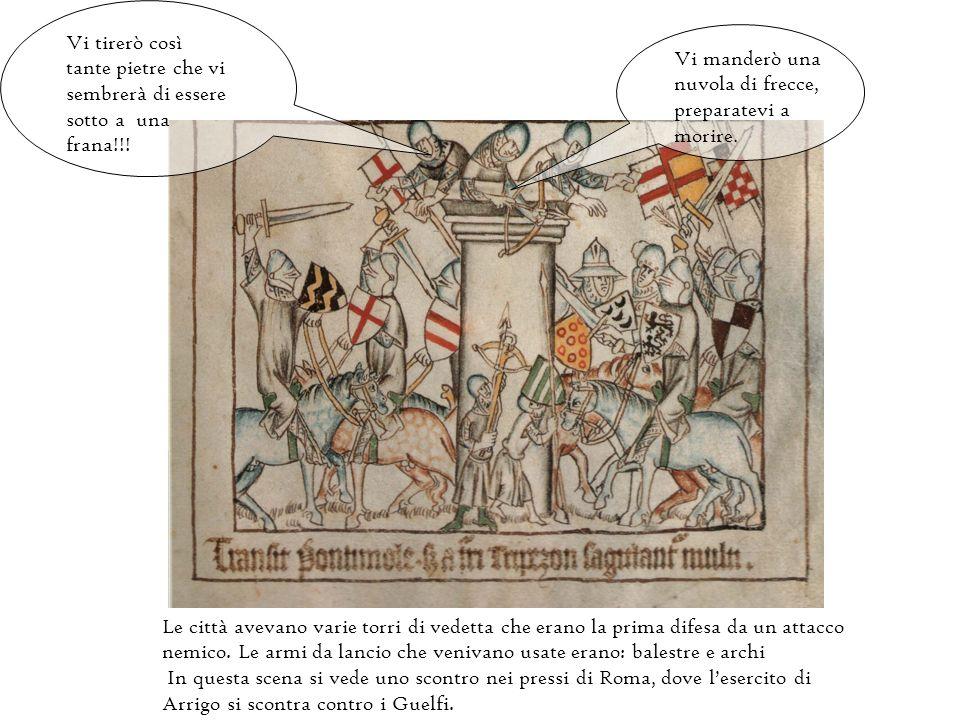 Sul mio scudo è rappresentato un leone rampante. Nel XIV secolo le armi usate per lo scontro corpo a corpo erano le spade.
