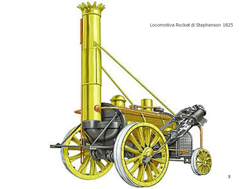 8 - rocket Locomotiva Rocket di Stephenson 1825
