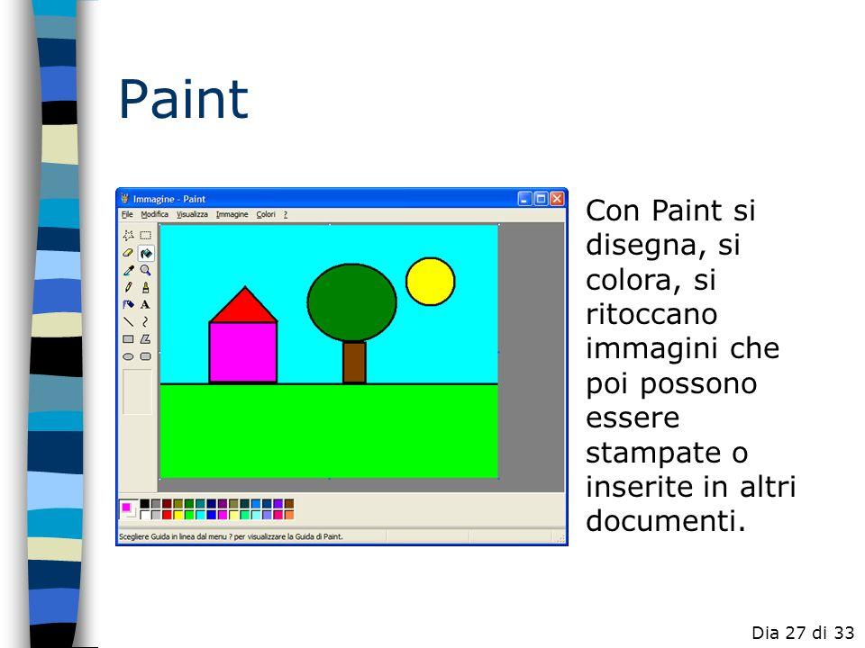 Word Possibili attività PowerPoint Publisher Excel FrontPage Paint Software didattico Dia 26 di 33