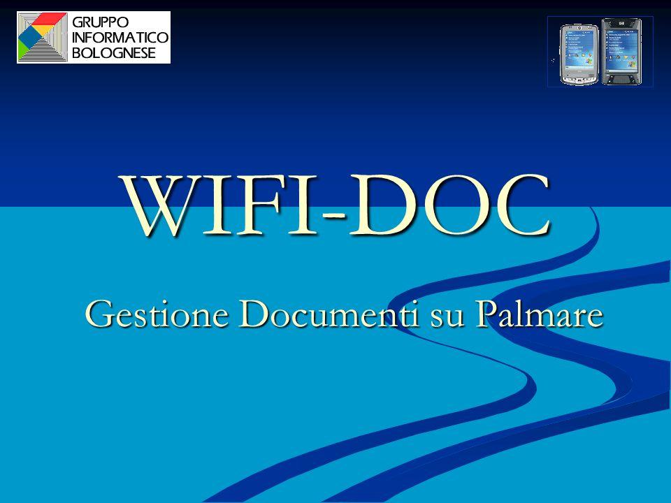 WIFI-DOC Gestione Documenti su Palmare