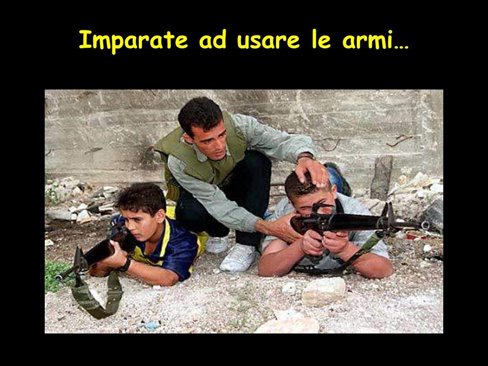 Imparate ad usare le armi…