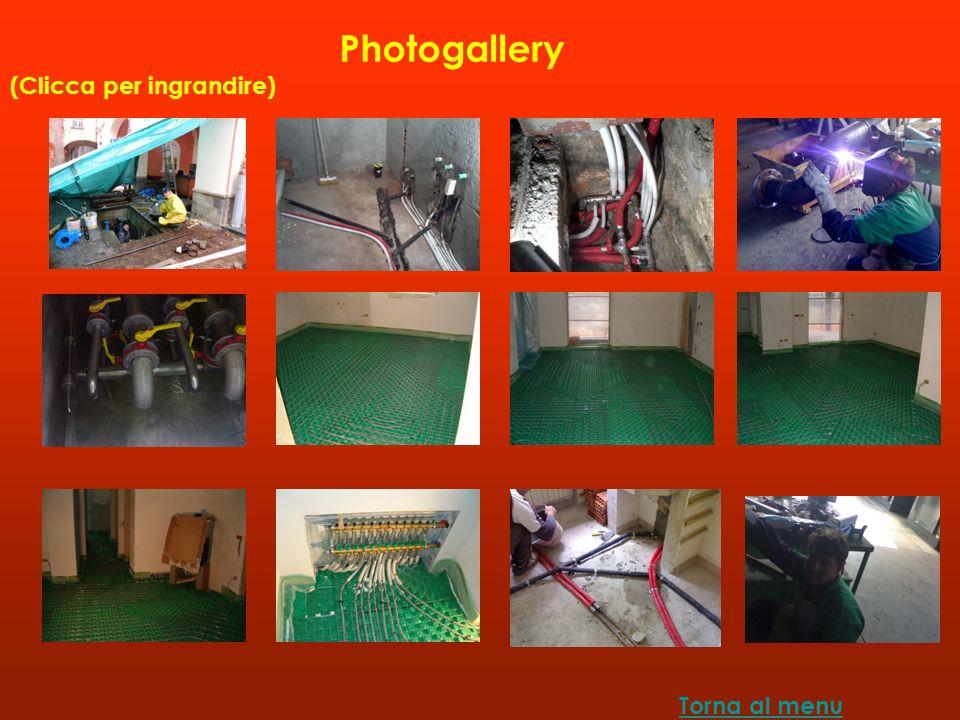 Photogallery (Clicca per ingrandire) Torna al menu