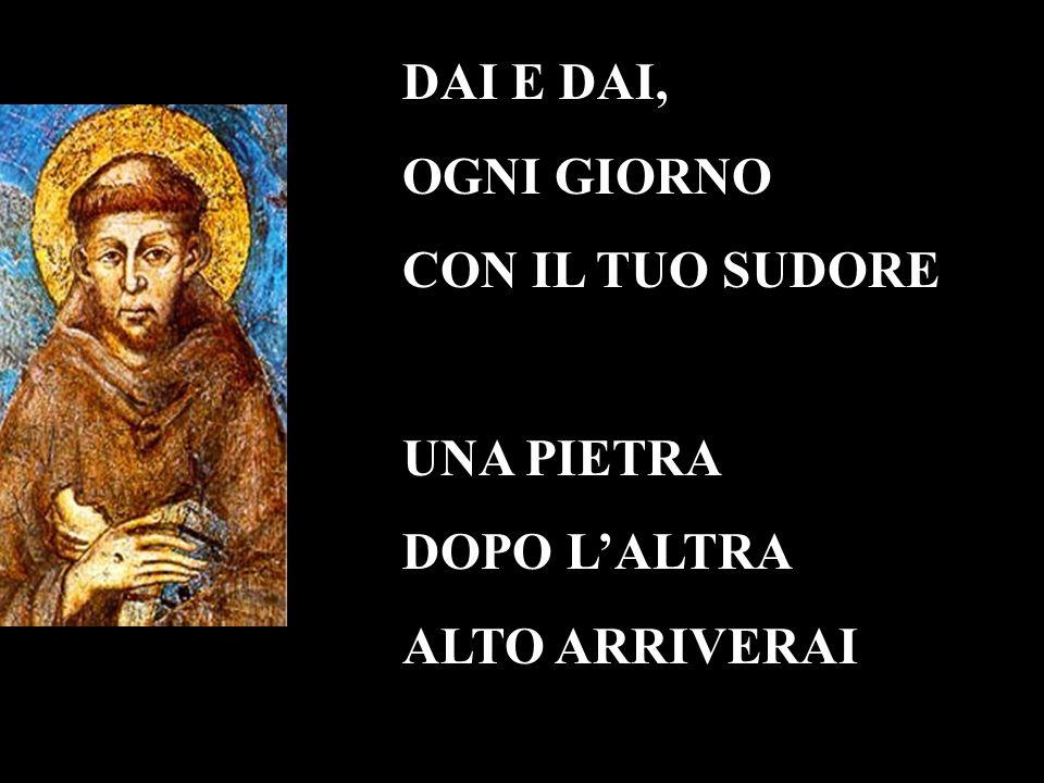 Laudato si , mi Signore, per sor Acqua, la quale è multo utile et humile et pretiosa et casta.