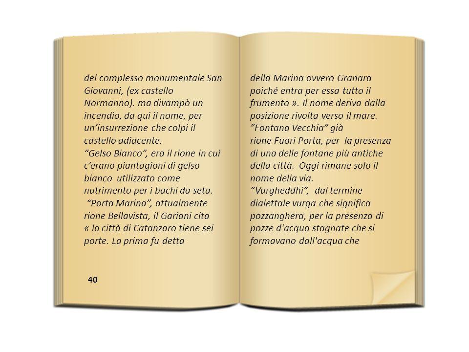 40 del complesso monumentale San Giovanni, (ex castello Normanno).
