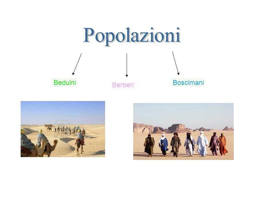 Beduini Berberi Boscimani